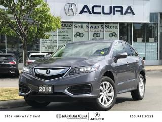 Used 2018 Acura RDX at V6 AWD, Moonroof, Power Liftgate for sale in Markham, ON