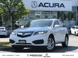 Used 2016 Acura RDX Tech at AWD, Navi, Backup Cam for sale in Markham, ON