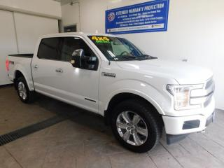 Used 2018 Ford F-150 PLATINUM *DIESEL* LEATHER NAVI SUNROOF for sale in Listowel, ON