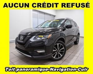 Used 2017 Nissan Rogue SL AWD CUIR NAV RÉGULATEUR ADAPTATIF *TOIT PANO* for sale in Mirabel, QC
