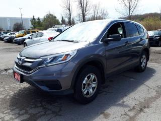 Used 2016 Honda CR-V LX for sale in Pickering, ON