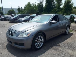 Used 2009 Infiniti G37X  Sedan Luxury AWD / LOW KM for sale in Pickering, ON