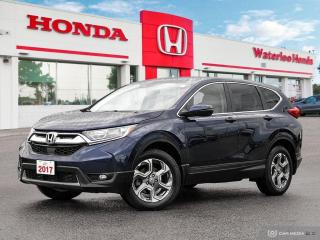 Used 2017 Honda CR-V EX Sold Pending Customer Pick Up...AWD, Reverse Camera and More for sale in Waterloo, ON