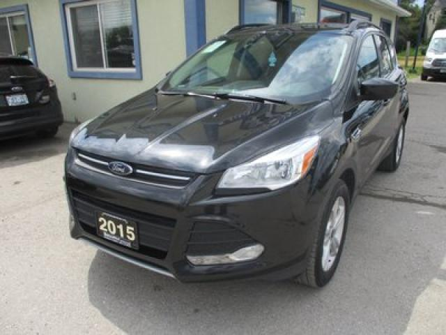 2015 Ford Escape FOUR-WHEEL DRIVE SE MODEL 5 PASSENGER 2.0L - ECO-BOOST.. NAVIGATION.. LEATHER.. HEATED SEATS.. BACK-UP CAMERA..