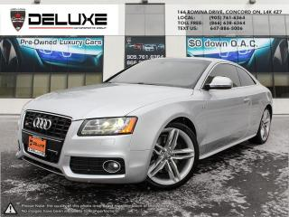 Used 2008 Audi S5 4.2L S5 6SPD NAVIGATION QUATTRO $0 DOWN OAC for sale in Concord, ON