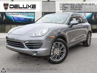 Used 2011 Porsche Cayenne Porsche Cayenne  S 4.8L Navigation AWD $0 Down OAC for sale in Concord, ON