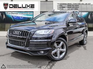 Used 2015 Audi Q7 3.0T Sport 2015 Audi Q7 quattro 4dr 3.0T Vorsprung Edition  7 Passenger $0 Down OAC for sale in Concord, ON