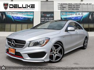Used 2016 Mercedes-Benz CLA-Class Mercedes Benz CLA 250 2.0L I-4 Turbo, Engine AMG PKG Navigation AWD 4Matic $0 Down OAC for sale in Concord, ON