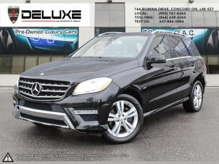Used 2012 Mercedes-Benz ML-Class Mercedes Benz ML350, 3.0L DOHC 24-valve turbocharged V6 BlueTEC diesel engine,Navigation $0 Down OAC for sale in Concord, ON