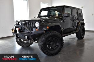Used 2007 Jeep Wrangler UNLIMITED SAHARA + 4.10 RATIO + AUTOMATI for sale in St-Jean-Sur-Richelieu, QC