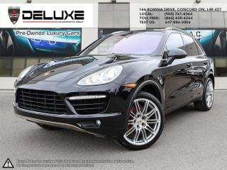 Used 2011 Porsche Cayenne 2011 Porsche Cayenne Turbo- 4.8L DOHC LOWEST PRICE GUARANTEED for sale in Concord, ON
