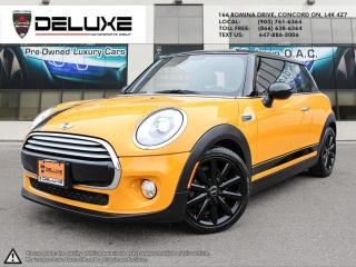 Used 2015 MINI 3 Door Mini Cooper Hardtop-Navigation Engine: 1.5L 12V Twin Power Turbo $0 Down OAC for sale in Concord, ON