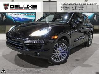 Used 2013 Porsche Cayenne DIESEL Diesel- 3.0L 24-valve V6 turbocharged diesel engine NAVIGATION UPGRADE SOUND $0 DOWN OAC for sale in Concord, ON