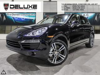 Used 2011 Porsche Cayenne Cayenne S- 4.8L DOHC SMPI  Navigation AWD aluminum 32-valve V8 $0 Down OAC for sale in Concord, ON