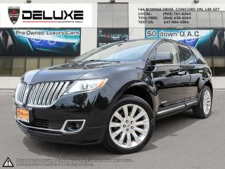 Used 2011 Lincoln MKX Lincoln MKX- 3.7L Ti-VCT V6 Navigation AWD $0 Down OAC for sale in Concord, ON