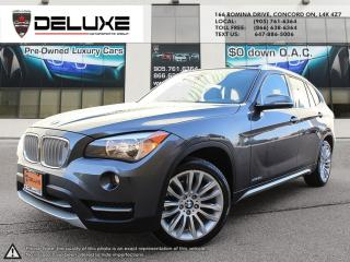 Used 2013 BMW X1 xDrive28i TwinPower Navigation Rear View Camera turbocharged $0 Down OAC for sale in Concord, ON