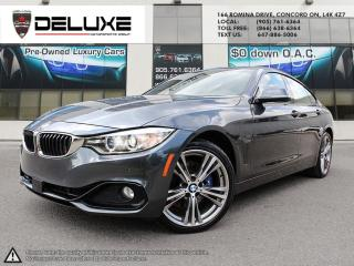Used 2016 BMW 428i Gran Coupe i xDrive 428i XDrive Grand Coupe 2.0L Navigation Turbocharged, Sport $0 Down OAC for sale in Concord, ON