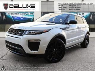 Used 2016 Land Rover Evoque HSE DYNAMIC Land Rover Range Rover Evoque-DYNAMIC NAVIGATION PANO ROOF $0 DOWN OAC for sale in Concord, ON