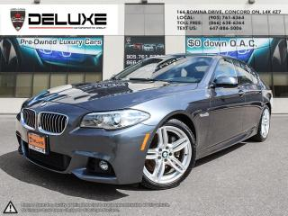 Used 2015 BMW 535 d xDrive 535d 3.0L M Sport Navigation DOHC 24-Valve I6 Diesel $0 Down OAC for sale in Concord, ON