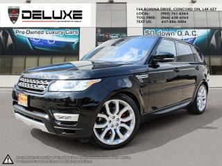 Used 2016 Land Rover Range Rover Sport DIESEL Td6 HSE Land Rover Range Rover Sport Diesel 3.0L V6 Turbocharged Diesel Heads up display Self park system$0 for sale in Concord, ON