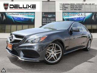 Used 2014 Mercedes-Benz E-Class E-Class 3.5L DOHC V6 Direct Injection, AMG PKG NAVIGATION Engine Auto Stop-Start Feature, Full-Time for sale in Concord, ON