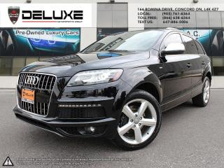 Used 2015 Audi Q7 3.0 TDI Vorsprung Edition Q7  3.0L TDI S-LINE 7 PASSENGER NAVIGATION QUATTRO AWD DOHC Direct-Injection V6 -inc: Turbocharged $ for sale in Concord, ON