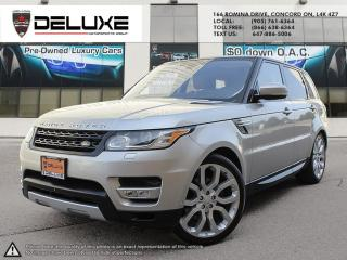 Used 2016 Land Rover Range Rover Sport DIESEL Td6 HSE LAND ROVER RANGE ROVER SPORT DIESEL- Engine: 3.0L V6 Turbocharged Diesel,MERIDIAN SOUND UPGRADE $0 D for sale in Concord, ON