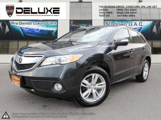 Used 2015 Acura RDX 2015 ACURA RDX TECHNOLOGY PKG-NAVIGATION REAR VIEW CAMERA $0 DOWN OAC for sale in Concord, ON