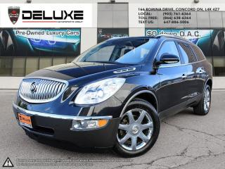 Used 2008 Buick Enclave 2008 BUICK ENCLAVE CXL-ENTERTAINMENT  DVD SYSTEM 6 PASSENGER CAPITAN LEATHER SEAT BOSE STERIO SOUND for sale in Concord, ON