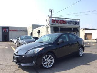 Used 2013 Mazda MAZDA3 GT - NAVI - LEATHER - SUNROOF for sale in Oakville, ON