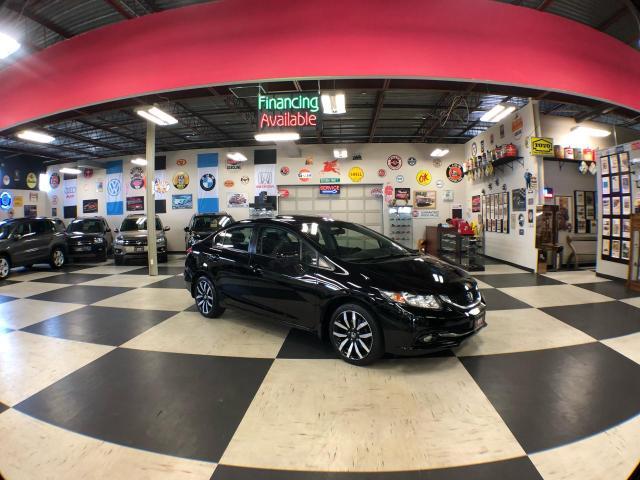 2014 Honda Civic Sedan TOURING AUT0 NAVI LEATHER SUNROOF CAMERA 97K