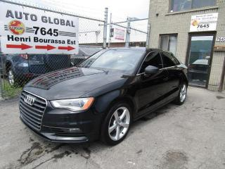 Used 2015 Audi A3 QUATTRO 2.0T CUIR Brun Mags Toit Panoram for sale in Montréal, QC