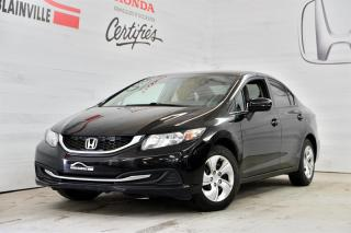 Used 2014 Honda Civic LX for sale in Blainville, QC