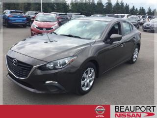 Used 2016 Mazda MAZDA3 GX BERLINE ***42 000 KM*** for sale in Beauport, QC