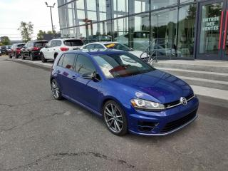 Used 2017 Volkswagen Golf R DSG 4MOTION GPS CAMÉRA MAIN LIBRE for sale in Lévis, QC