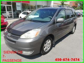 Used 2005 Toyota Sienna * SIÈGES ARRIÈRE RABATTANT AU PLANCHER * for sale in Longueuil, QC