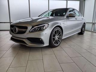 Used 2016 Mercedes-Benz C-Class C63 AMG | 360 Cameras | Lane Keep | Burmester | 3M for sale in Edmonton, AB