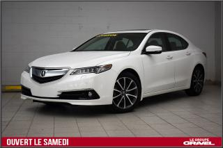 Used 2015 Acura TLX V6 ELITE CERTIFIÉ GPS SIEGES VENTILÉS for sale in Montréal, QC