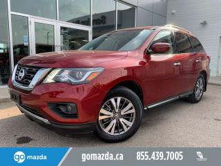 Used 2019 Nissan Pathfinder SL PREM 7PASS LEATHER NAV PANO ROOF 360 CAM for sale in Edmonton, AB