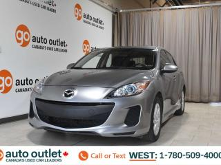 Used 2013 Mazda MAZDA3 Gs-sky, 2.0L I4, Fwd, 6 speed manual, Cloth seats, Heated seats, Sunroof for sale in Edmonton, AB