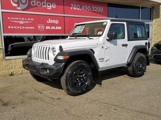 New 2019 Jeep Wrangler Sport / Back Up Camera for sale in Edmonton, AB