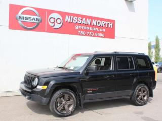 Used 2017 Jeep Patriot 75th Anniversary/LEATHER/SUNROOF/TOUCHSCREEN for sale in Edmonton, AB