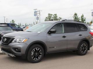 Used 2019 Nissan Pathfinder SL ROCK CREEK EDITION / BIRDS EYE CAM / HEATED SEATS / POWER LIFT GATE / BLACK ACCENTS !!! for sale in Edmonton, AB