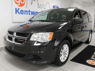 Used 2014 Dodge Grand Caravan SE FWD with back up cam and back seat tv for sale in Edmonton, AB