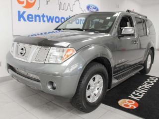 Used 2005 Nissan Pathfinder SE 4WD with power seats, big enough for the whole family for sale in Edmonton, AB