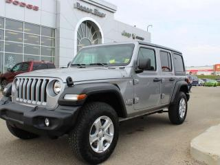 Used 2019 Jeep Wrangler UNLIMITED SPORT for sale in Peace River, AB