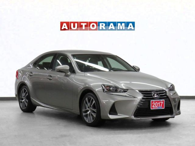 2017 Lexus IS 300 AWD Leather Backup Cam