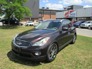 Used 2010 Infiniti EX35 AWD~NAV.~360' CAM.~HEATED SEATS~LEATHER for sale in Toronto, ON