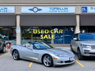 Used 2007 Chevrolet Corvette Navi, 6 Speed, 43K Km, Backup Cam for sale in Vaughan, ON