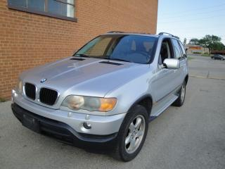 Used 2003 BMW X5 3.0i for sale in Oakville, ON